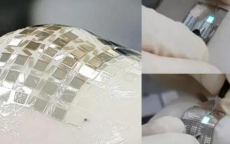 韩国科学技术院研制出新型二维可拉伸的OLED