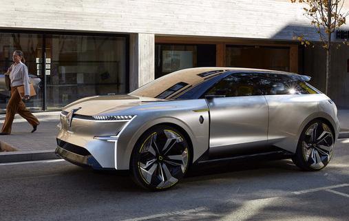 雷诺推出了一款可以实现变形的新概念车Morpho...