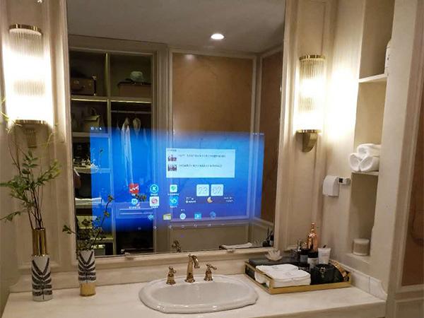 智能魔鏡帶你體驗智能浴室帶來的樂趣