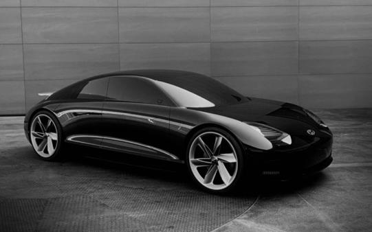 现代电动概念车Prophecy发布,设计理念和设计方向都是全新的