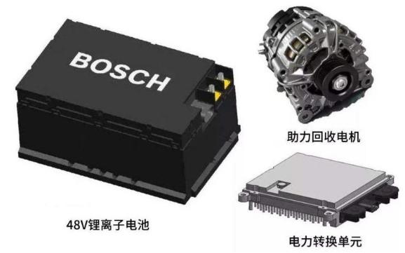 博世在德開始生產混合動力汽車用48V電池