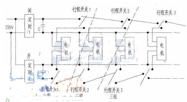 窗帘定时器装置电路工作原理