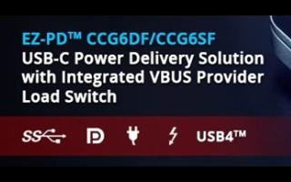 支持USB4的新款單芯片USB 3.2主控制器