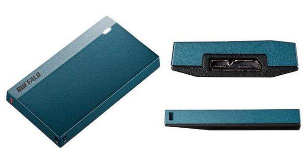 Buffalo推出(chu)迷你固態移動硬(ying)盤,支持USB-C接口