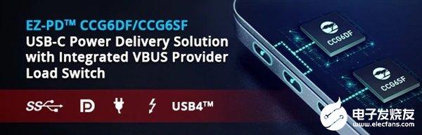 赛普拉斯宣布全新单芯片USB 3.2主控制器 号称可通过固件升级支持USB4标准