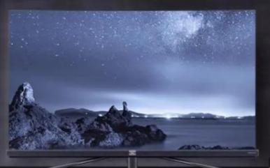 智能化的全面屏电视机,尽情畅享影院级的体验