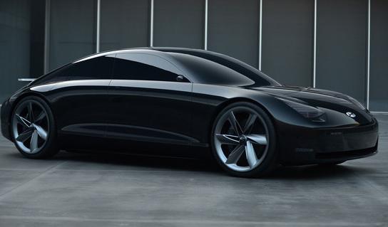 现代推出了一款使用操纵杆来操控汽车的概念电动汽车...