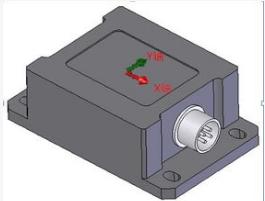如何正确的安装倾角传感器