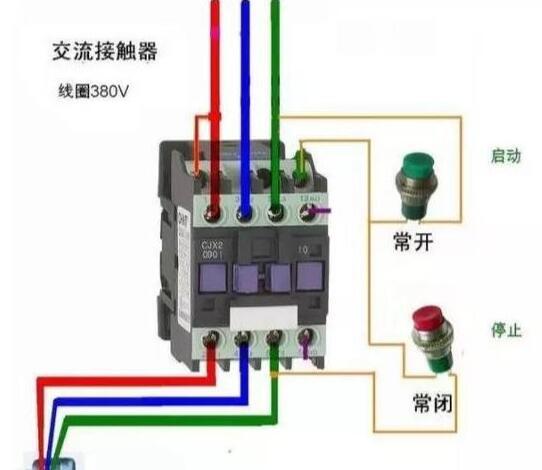 接触器a1和L1连接的原因