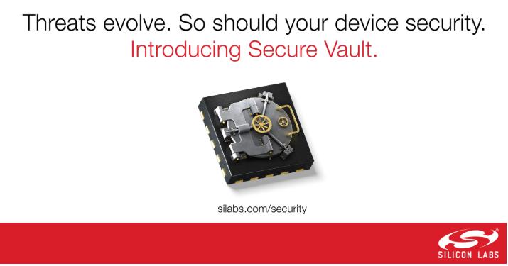 Silicon Labs新型Secure Vault技術重新定義IoT設備安全