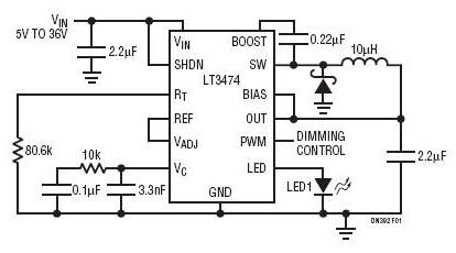 基于一种大功率的LED照明解决方案设计