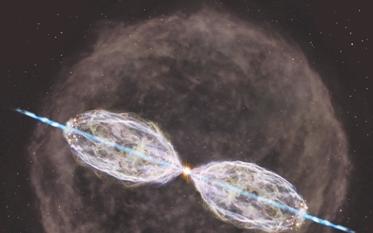 ALMA发现一颗恒星开始改变其环境的时刻