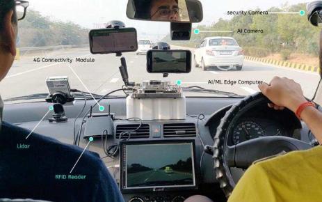 LizMotors边缘计算设备可持续监控驾驶员和...