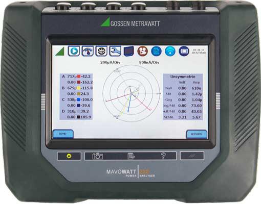 具有先进蜂窝无线通讯功能的电能质量分析仪MAVOWATT系列