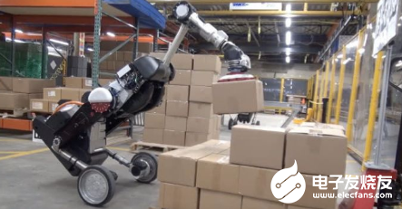 波士頓動力搬貨機器人進一步(bu)實現了物流空間(jian)的自動化