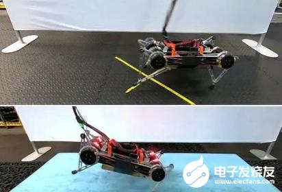 在谷歌的深度机器学习技术助力下 机器人不用干预自己就学会了走路