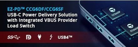 Cypress推出支持新USB4標準的主控,搭載...
