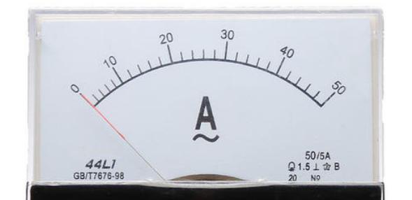 交流电流表使用步骤和读数方法