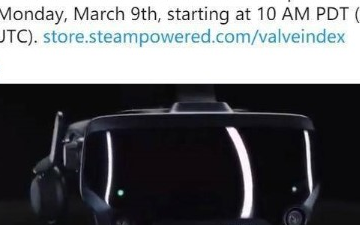 Valve Index VR再次開售,可配合支持SteamVR 2.0追蹤的控制器使用