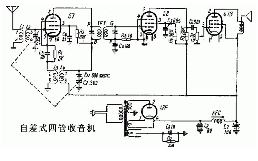 电子管收音机的电路图合集免费下载