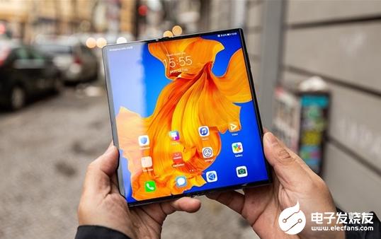 华为折叠屏手机Mate Xs被炒高至6万元 备受消费者的关注