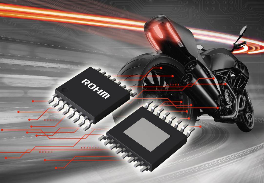 ROHM開發出內置MOSFET的4通道線性LED驅動器IC