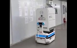 AI 5G等科技利器助力战疫 雷神山机器人上岗