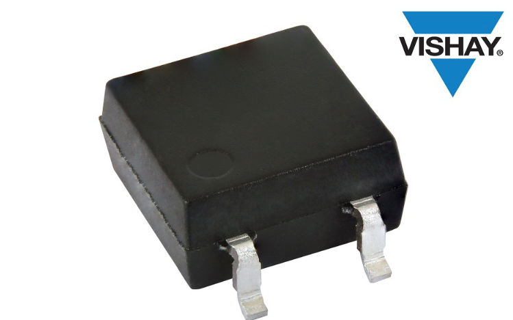Vishay推出SOP-4微型扁平封裝的新型汽車級光電晶體管耦合器