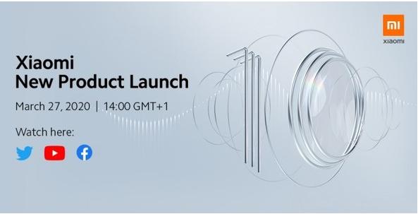 小米10系列国际版将于3月27日发布该机全系标配90Hz刷新率屏幕