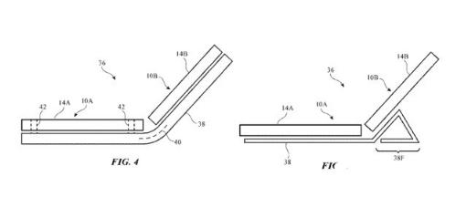 苹果新专利亮相 折叠屏手机或将与微软类似
