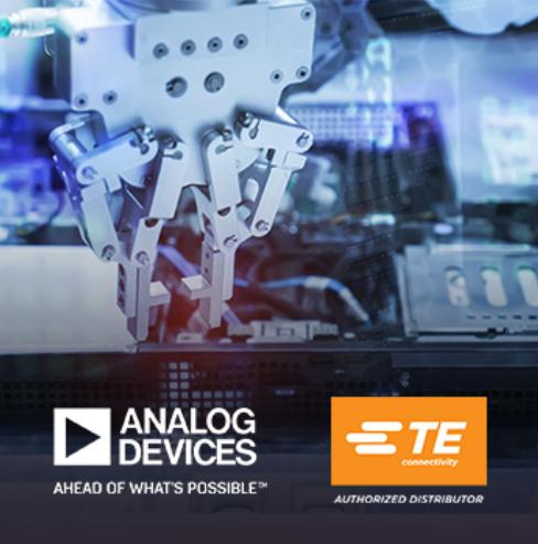 貿澤新品快訊:Analog Devices和TE Connectivity聯手推出車間用工業通信解決方案