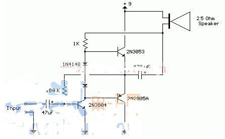 一文解析晶体管音频放大电路原理图