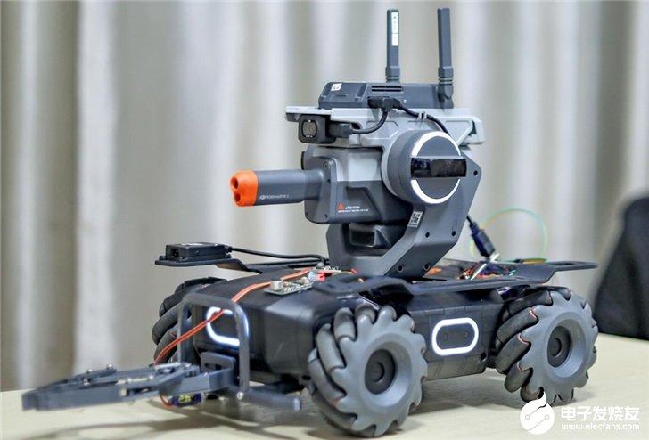大疆推出RoboMaster EP教育拓展套装,支撑超过50个可编程传感器接口