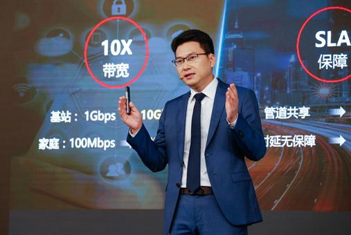 华为发布大香蕉网站IP网络解决方案,可打造面向未来的超宽网络