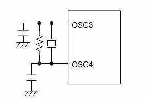 MCU振荡电路晶体旁的电容是起什么作用的