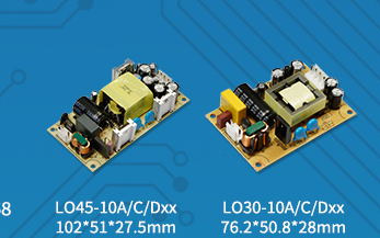 15-65W经济型、小体积开板多路输出AC/DC电源—— LOxx-10A/C/D系列