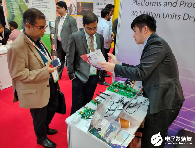 濎通芯在India Smart Utility Week 2020展示RF结合PLC双模融合组网方案