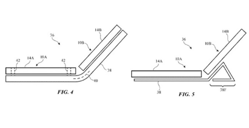 苹果技术专利曝光,或将用于解决折叠屏设备的折痕和开裂问题