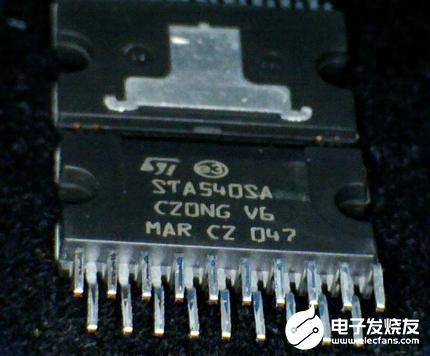 意法半導體推出D類音頻放大器芯片 讓你在汽車里也能感受影院級體驗