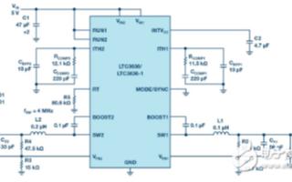 LTC3636降压稳压器为工业和汽车领域应用提供...