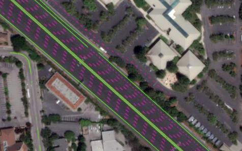 丰田自动驾驶汽车地图由卫星绘制,精度能达到10英...