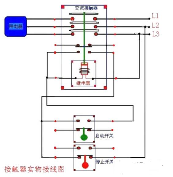 交流接触器怎么使用_交流接触器安装方法