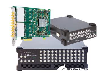 Spectrum儀器11款新型數字化儀的信號采集...