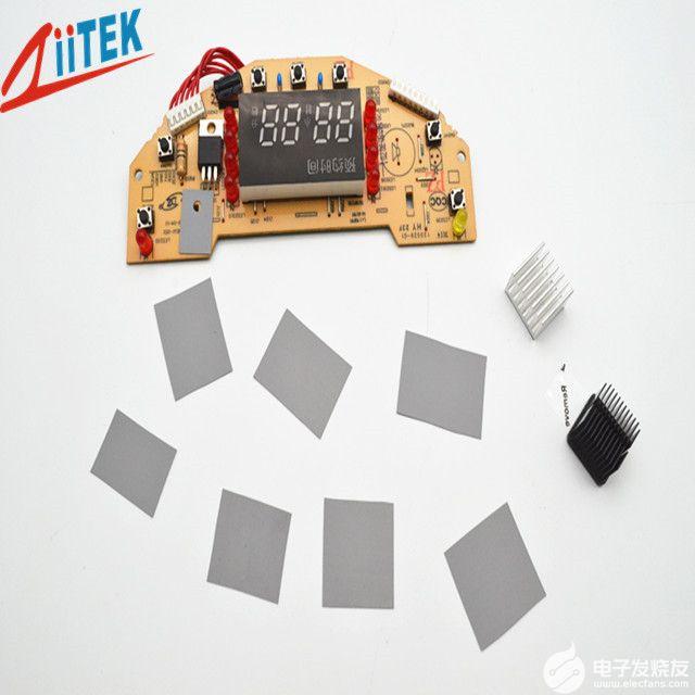 导热矽胶片帮助电源电子散热发挥了哪些作用呢?