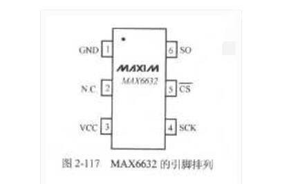 MAX6632集成温度传感器的引脚功能及工作原理