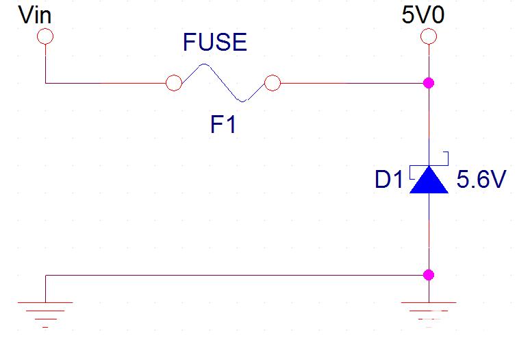 一种简单的防反接防过压电路