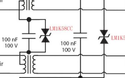 瞬态二极管LM1K58CC在千兆网,POE防护方...