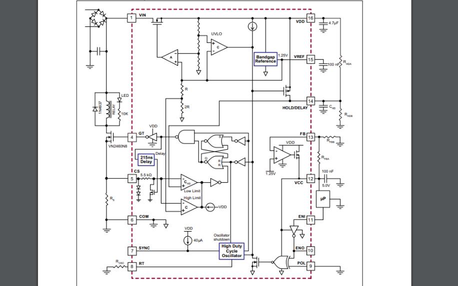 HV9901通用继电器驱动器的数据手册免费下载