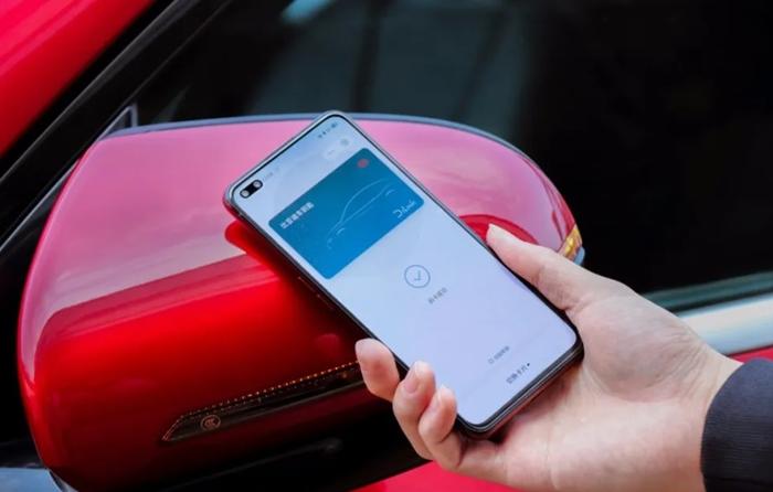 比亚迪与realme携手推出手机NFC车钥匙功能