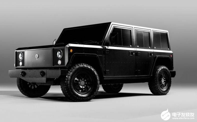 全球唯一的Bollinger电动3级商用卡车平台